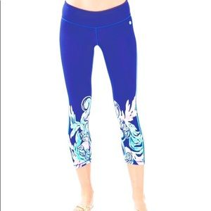 Lilly Pulitzer Luxletic Size S Crop Legging